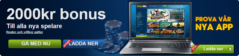 William Hill annons